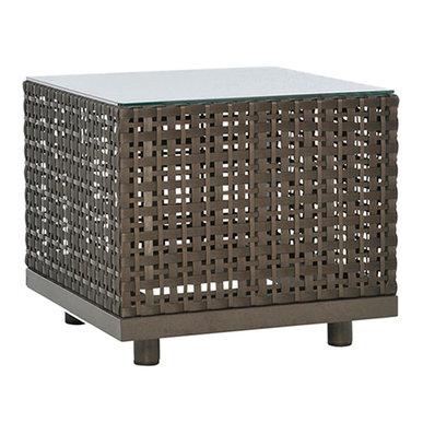 Итальянский квадратный столик BOXWOOD 44 фабрики JANUS ET CIE