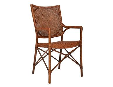 Итальянский стул с подлокотниками BRIOCHE фабрики JANUS ET CIE