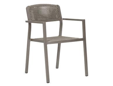 Итальянский стул с подлокотниками CONIC фабрики JANUS ET CIE