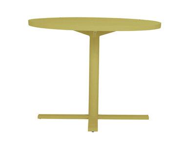 Итальянский круглый столик DUO 95 фабрики JANUS ET CIE