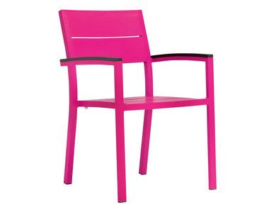 Итальянский стул с подлокотниками DUO фабрики JANUS ET CIE