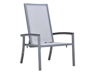 Итальянский стул с подлокотниками DUO RECLINING фабрики JANUS ET CIE