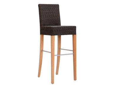 Итальянский барный стул EDWARD II фабрики JANUS ET CIE