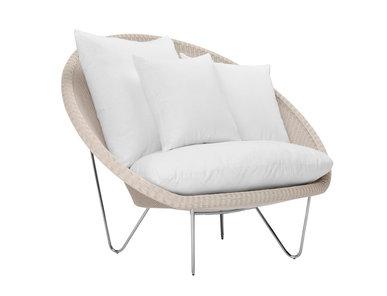 Итальянское кресло GIGI II LOUNGE фабрики JANUS ET CIE