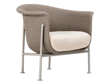 Итальянский стул с подлокотниками GINA LOUNGE фабрики JANUS ET CIE