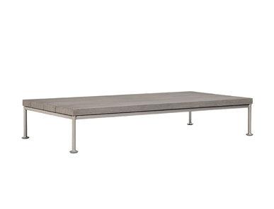 Итальянский прямоугольный журнальный столик GINA 140 фабрики JANUS ET CIE