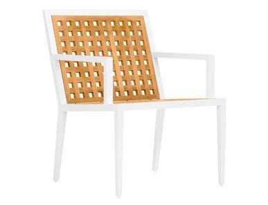 Итальянский стул с подлокотниками HATCH фабрики JANUS ET CIE