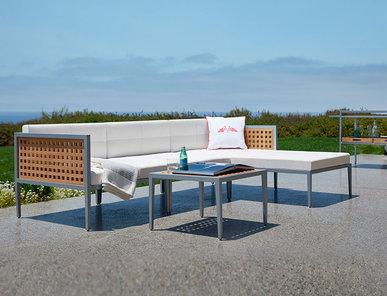 Итальянский модульный диван HATCH фабрики JANUS ET CIE
