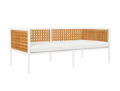 Итальянский 2-х местный диван HATCH фабрики JANUS ET CIE