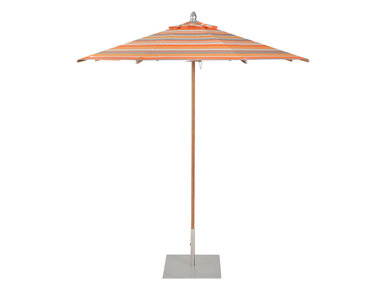 Итальянский круглый зонт JANUS TEAK 185 фабрики JANUS ET CIE