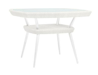 Итальянский квадратный стол KATACHI 111 фабрики JANUS ET CIE