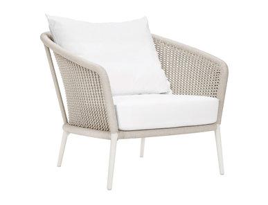 Итальянское кресло KNOT LOUNGE фабрики JANUS ET CIE