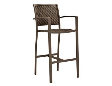 Итальянский барный стул с подлокотниками KOKO II фабрики JANUS ET CIE