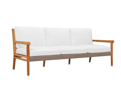 Итальянский 3-х местный диван KONOS фабрики JANUS ET CIE