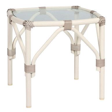 Итальянский квадратный столик LUCY 46 фабрики JANUS ET CIE