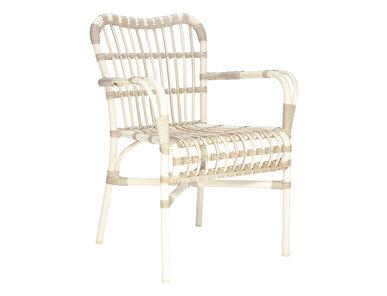 Итальянский стул с подлокотниками LUCY фабрики JANUS ET CIE