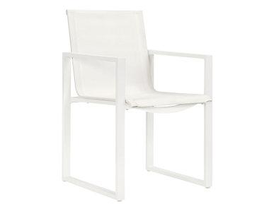 Итальянский стул с подлокотниками MATISSE фабрики JANUS ET CIE