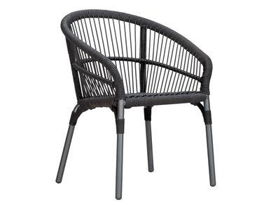 Итальянский стул с подлокотниками NEXUS фабрики JANUS ET CIE