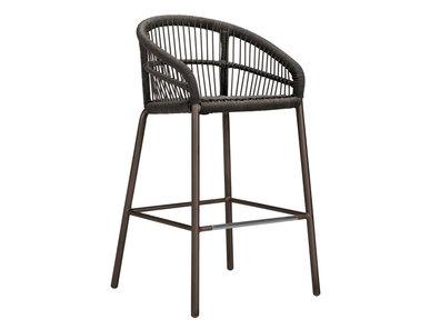 Итальянский барный стул с подлокотниками NEXUS фабрики JANUS ET CIE