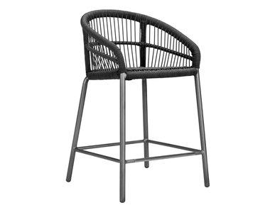Итальянский барный стул с подлокотниками NEXUS COUNTER фабрики JANUS ET CIE