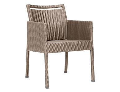 Итальянский стул с подлокотниками NICHE фабрики JANUS ET CIE