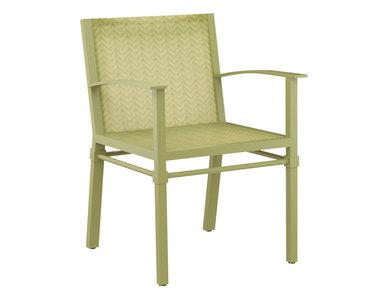 Итальянский стул с подлокотниками PALMIA фабрики JANUS ET CIE