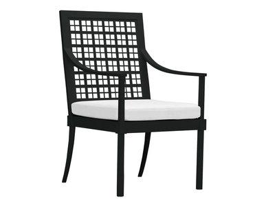 Итальянский стул с подлокотниками QUADRATL фабрики JANUS ET CIE