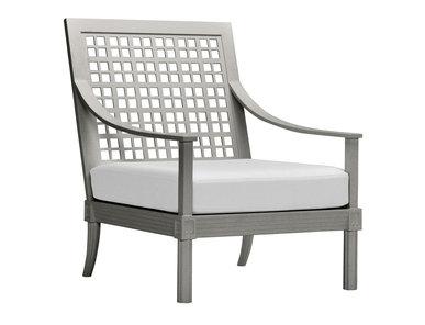 Итальянское кресло QUADRATL LOUNGE фабрики JANUS ET CIE