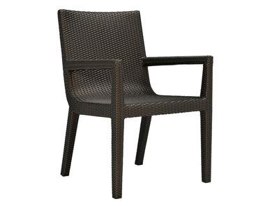 Итальянский стул с подлокотниками QUINTA фабрики JANUS ET CIE