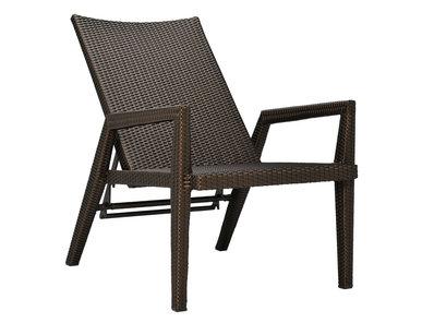 Итальянский стул с подлокотниками QUINTA LOUNGE фабрики JANUS ET CIE