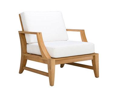 Итальянское кресло RELAIS LOUNGE фабрики JANUS ET CIE