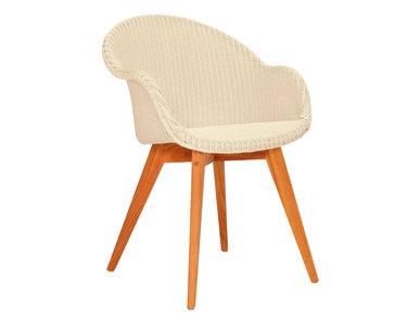 Итальянский стул с подлокотниками ROBIN фабрики JANUS ET CIE
