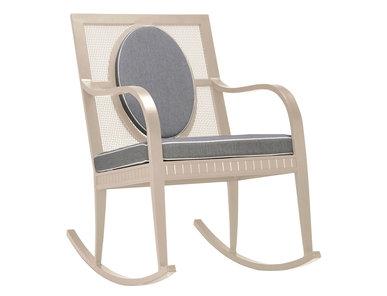 Итальянская кресло-качалка SAVANNAH фабрики JANUS ET CIE