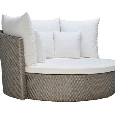 Итальянская кровать SHELL фабрики JANUS ET CIE