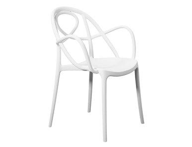 Итальянский стул с подлокотниками SKETCH фабрики JANUS ET CIE
