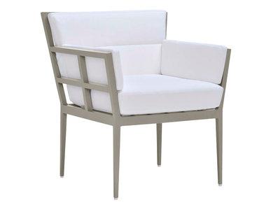 Итальянский стул с подлокотниками SLANT фабрики JANUS ET CIE