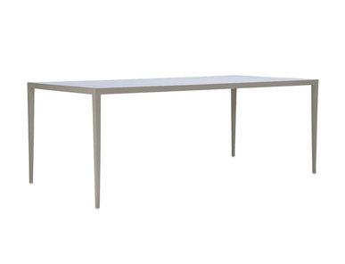Итальянский прямоугольный стол SLANT 200 фабрики JANUS ET CIE
