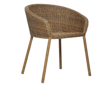 Итальянский стул с подлокотниками STRADA фабрики JANUS ET CIE