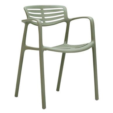Итальянский стул с подлокотниками TOLEDO AIRE фабрики JANUS ET CIE