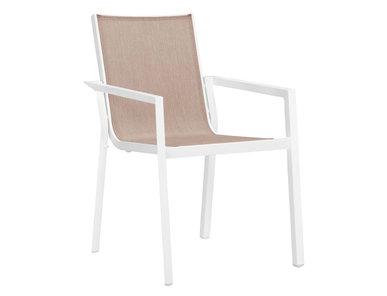 Итальянский стул с подлокотниками TRIG фабрики JANUS ET CIE