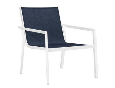 Итальянский стул с подлокотниками TRIG LOUNGE фабрики JANUS ET CIE