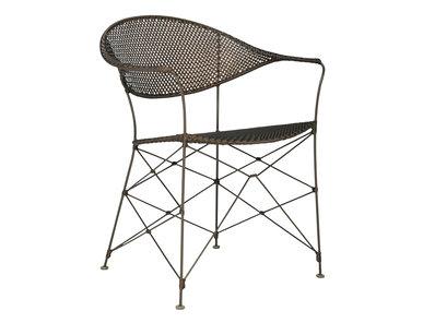 Итальянский стул с подлокотниками WHISK фабрики JANUS ET CIE