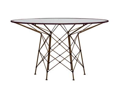 Итальянский круглый стол WHISK 130 фабрики JANUS ET CIE