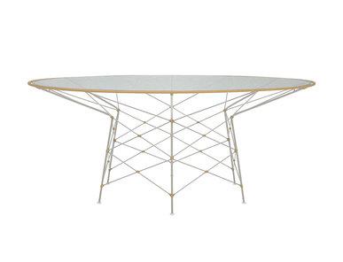 Итальянский круглый стол WHISK 180 фабрики JANUS ET CIE