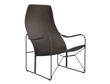Итальянское кресло WHISKEY фабрики JANUS ET CIE