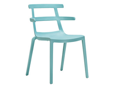Итальянский стул с подлокотниками ZEN фабрики JANUS ET CIE