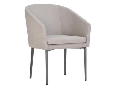 Итальянский стул с подлокотниками ZUMBA фабрики JANUS ET CIE
