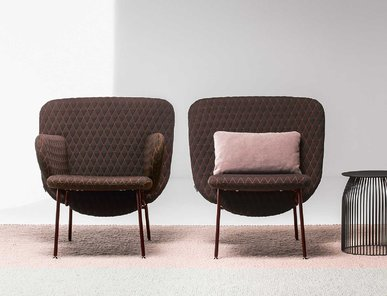 Итальянское кресло ALA SMALL фабрики LA CIVIDINA