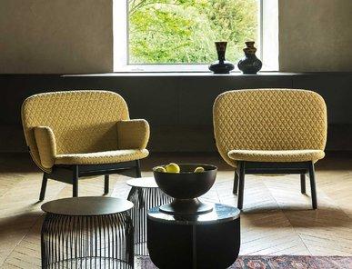Итальянское кресло ALA LOW фабрики LA CIVIDINA