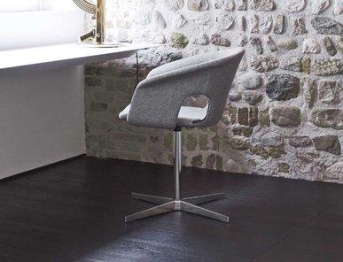 Итальянский стул с подлокотниками BENNETT фабрики LA CIVIDINA